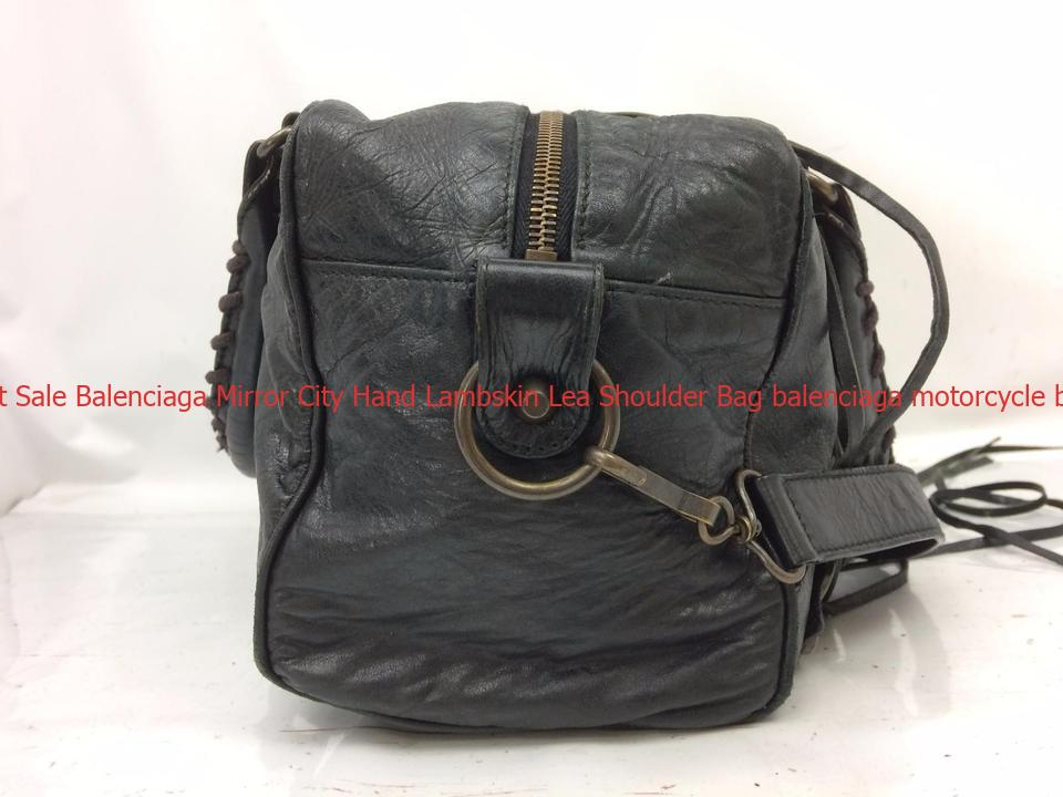 5034c038d4b5 Hot Sale Balenciaga Mirror City Hand Lambskin Lea Shoulder Bag balenciaga  motorcycle bag