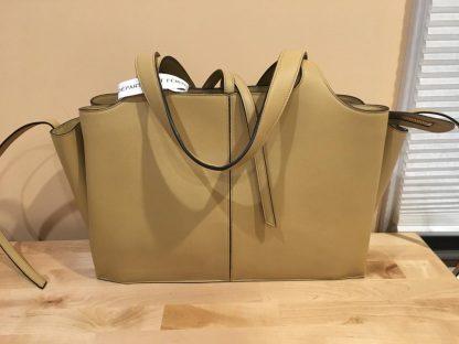The Best Céline Mirror Tri-Fold Medium Sand Supple Natural Calfskin Shoulder  Bag celine bag price ee4d940bdb49a