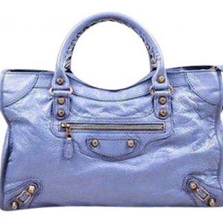 892f3d2694d ... Top Designer Qualities Balenciaga Imitation Light Purple Wrinkled  Leather Copper Tone Giant City Bag replica designer handbags uk
