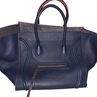 b47ce434edc4 You're viewing: Wholesale Handbags Céline 7 Star Replica Cabas Phantom Large  Blue Leather Satchel high quality replica handbags china £1,252.00